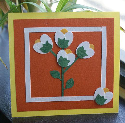 经过压图机(器)的切割立刻就能得到自己想要的图案,如天鹅,郁金香花