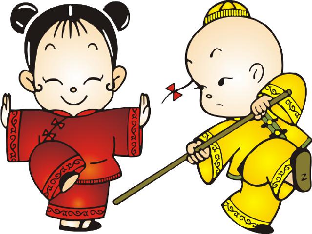 武术小人儿童简笔画-兜兜的新作 5月之菲你莫属