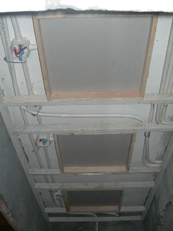 吊顶装修电路布线图