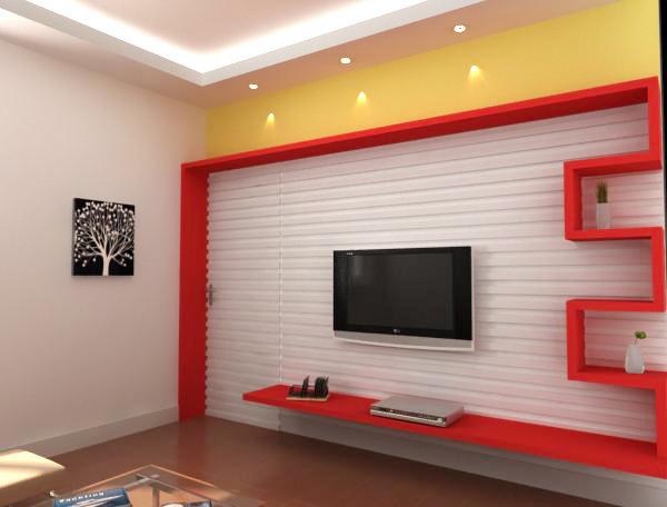 【求助】电视背景墙设计