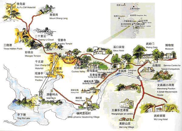 宁波到奉化地图