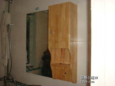 方柱子装饰效果图带镜子