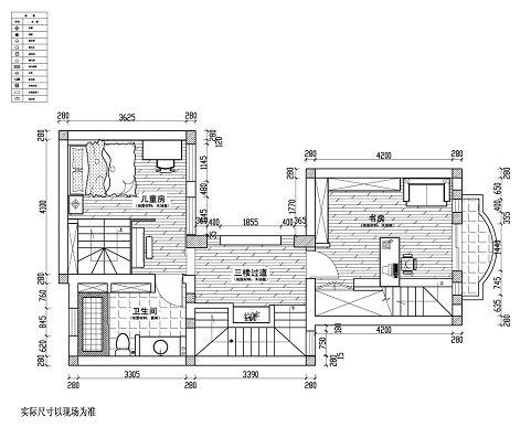 大衣柜内部结构施工图