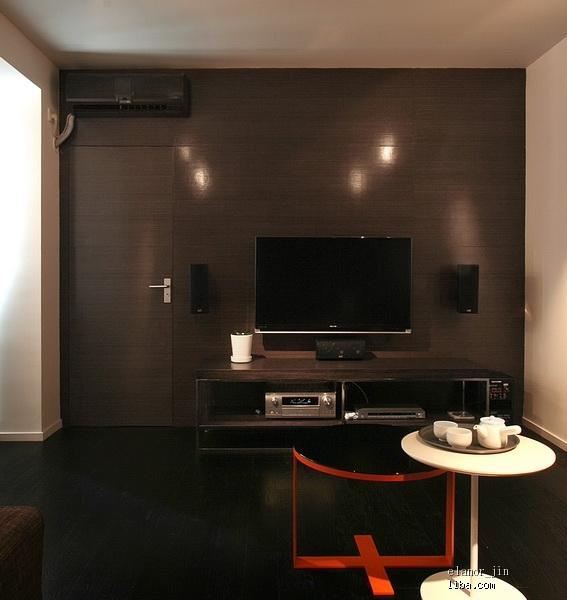 电视背景墙暗门设计 装修日记