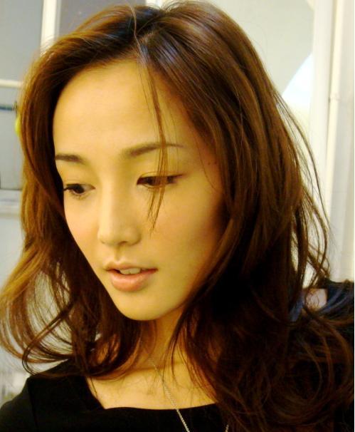 柚子家模特发型