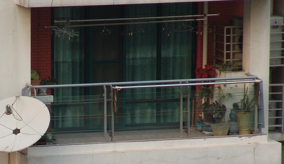 阳台晾衣架