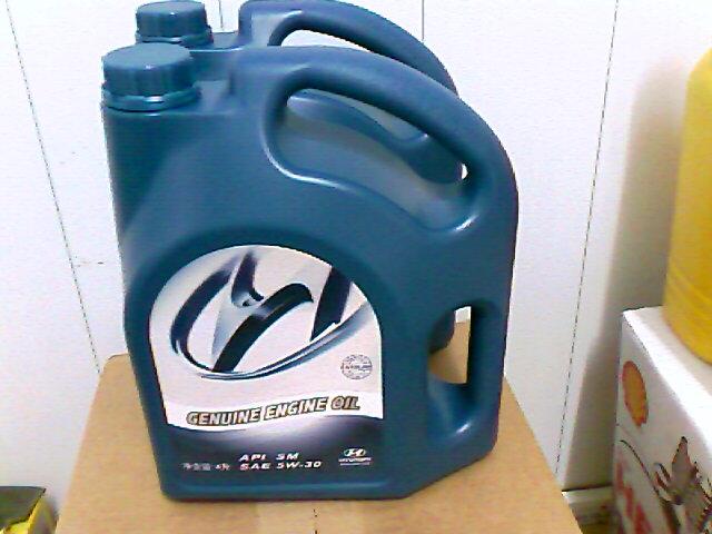 现代进口专用机油