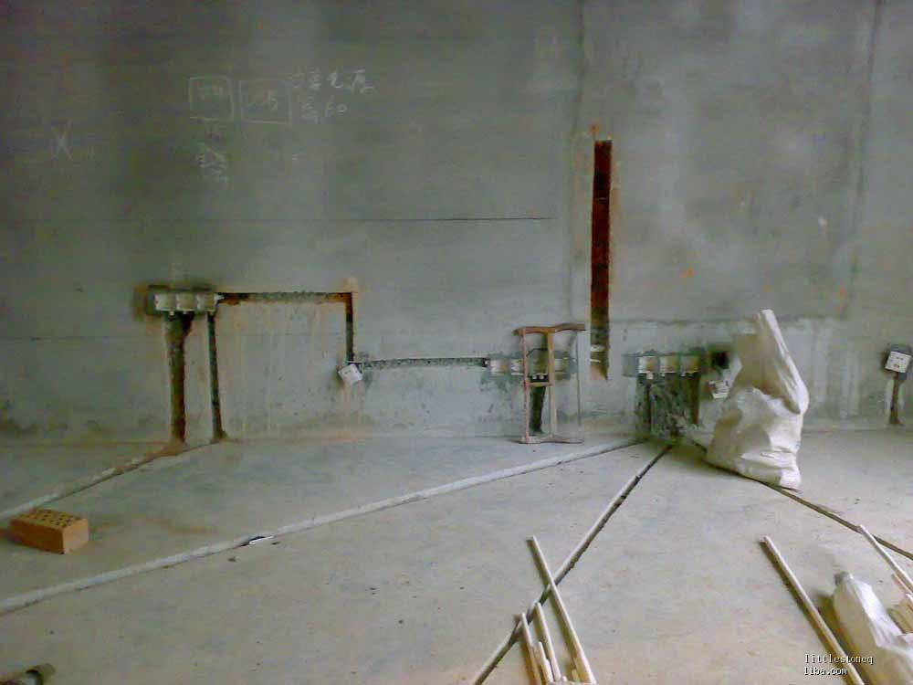 客厅网线端口接线图
