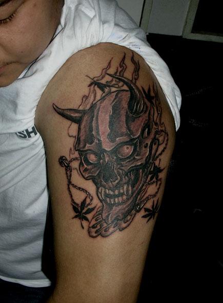 上海专业纹身工作室shenyu-tattoo#疤痕遮盖/失败纹身修改,每个作品