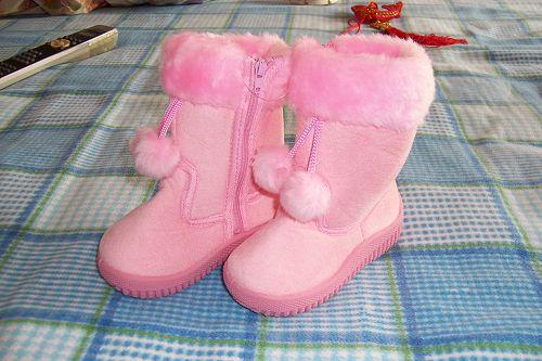 儿童雪地鞋-宝宝的雪地靴