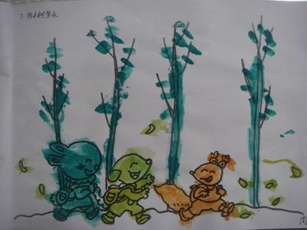 小树的生长过程简笔画-调皮佳佳的成长历程 P425 贴了很多照片