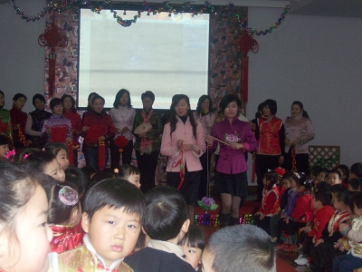 {{{9月1日开学的云台幼儿园中班宝宝们集合了!