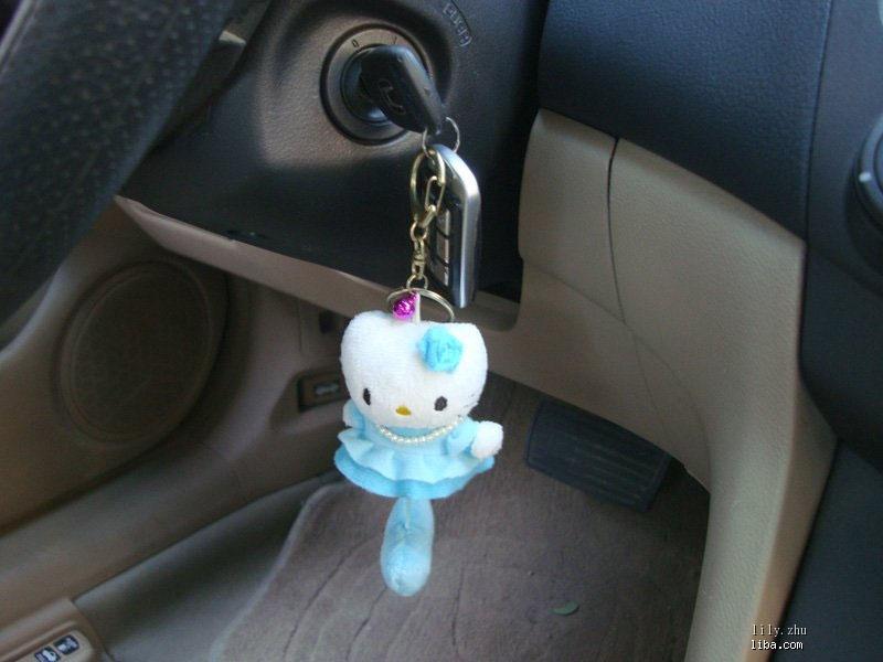kitty车内装饰品来了