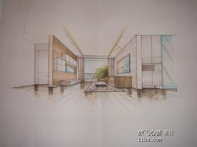 柜子产品设计手绘图