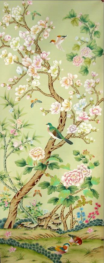 欧式丝绸花纹贴图