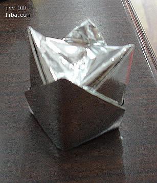 锡箔元宝的折法步骤图
