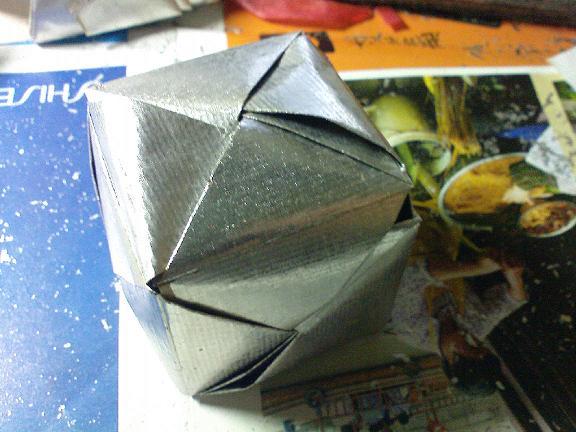 银锡箔纸大元宝的折法步骤图片