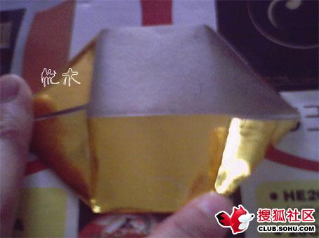 锡箔元宝折叠方法_徐兴法机制锡箔有限公司上海锡箔