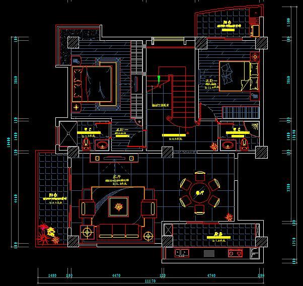 农村70平方米房屋设计图展示图片