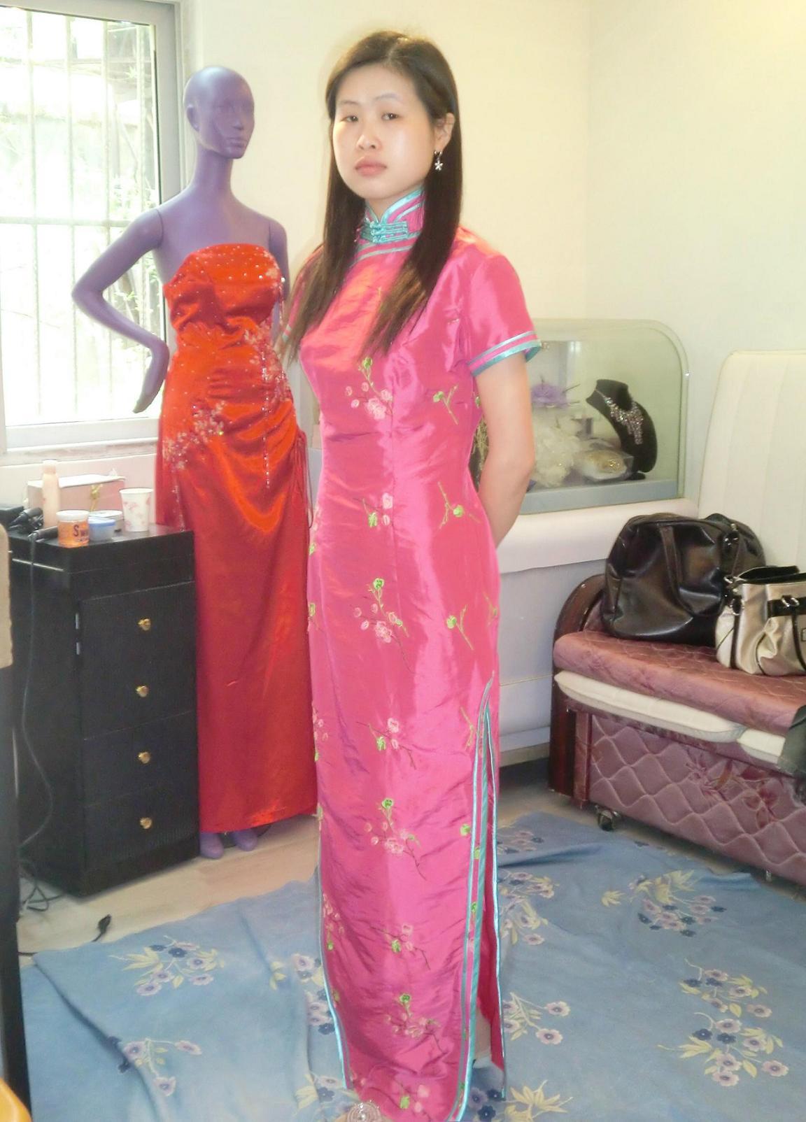 穿旗袍配什么发型步骤 结婚