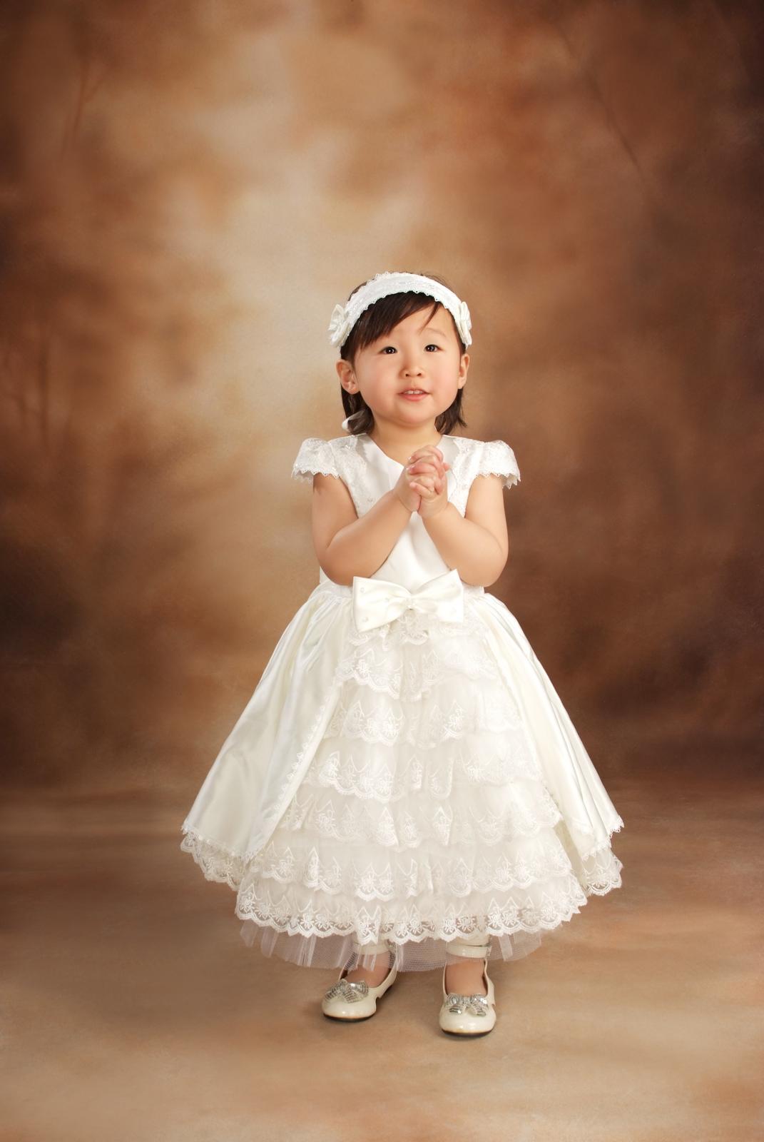 最贵的儿童婚纱