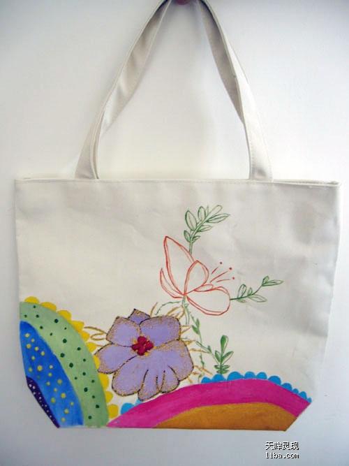 新增原创手绘包包