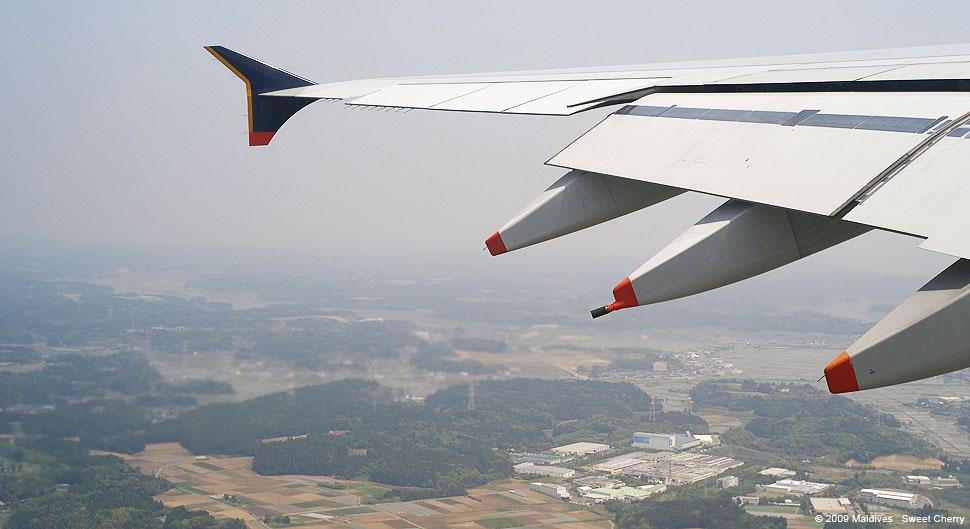直到上了飞机才知道.这架就是新航的a380