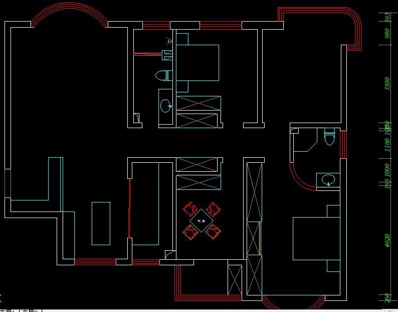 请大家帮忙看看我的房子结构如何更改最合理