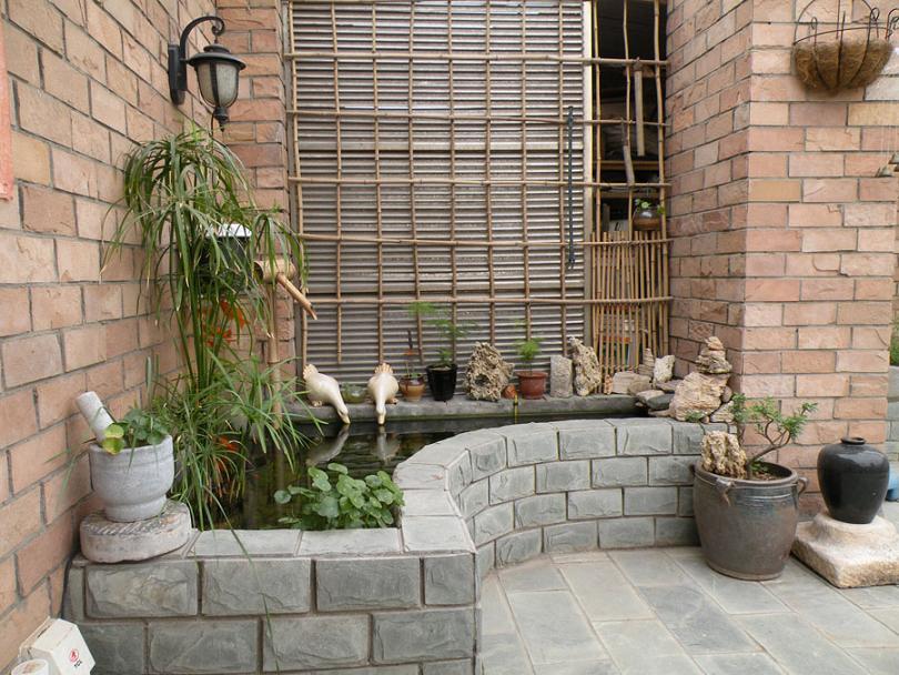 阳台水池设计图展示图片