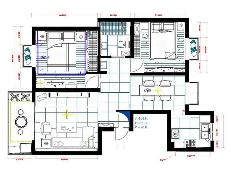 北方平房院内设计图