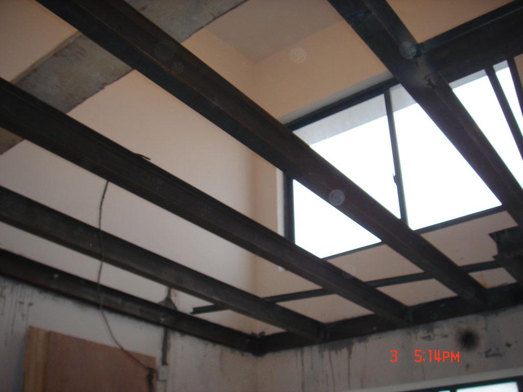小户型复式1房1厅+挑高阁楼钢结构搭建