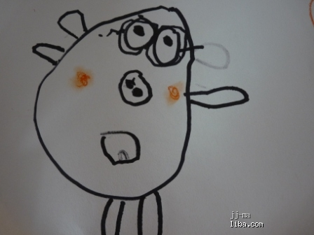 《jj的自画像》--1只猪耳朵,2只斗鸡眼,3只鼻子转转笔怎么飞图片