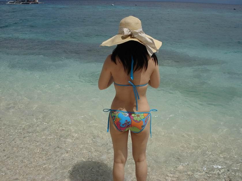 长滩与薄荷~碧海蓝天,水清沙幼~难道到了天堂?