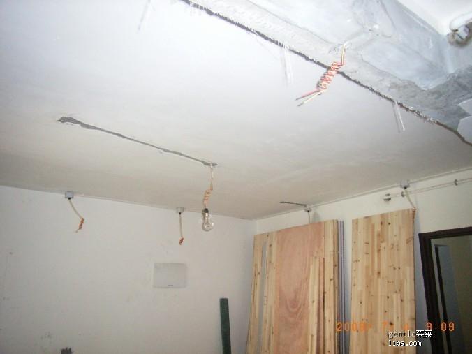 客厅吊顶放筒灯线