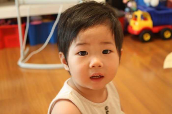 两周岁男宝宝发型分享展示