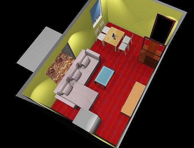 阳台改小房装修效果图,小房装修效果,50平米小房装修效果图,小房高清图片