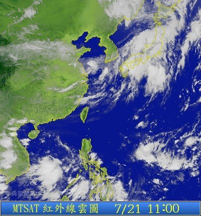 江中下游地区 天气预报 附卫星云图 气象台官方信息不可靠图片
