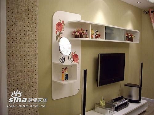 电视背景墙的问题 装修日记