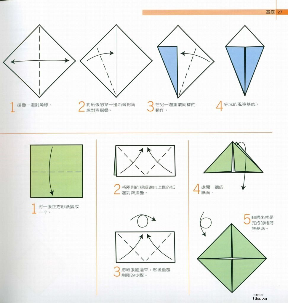 会蹦青蛙折纸步骤图