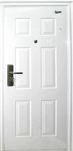 防盗门在盼盼和步阳的白色门当中选一款