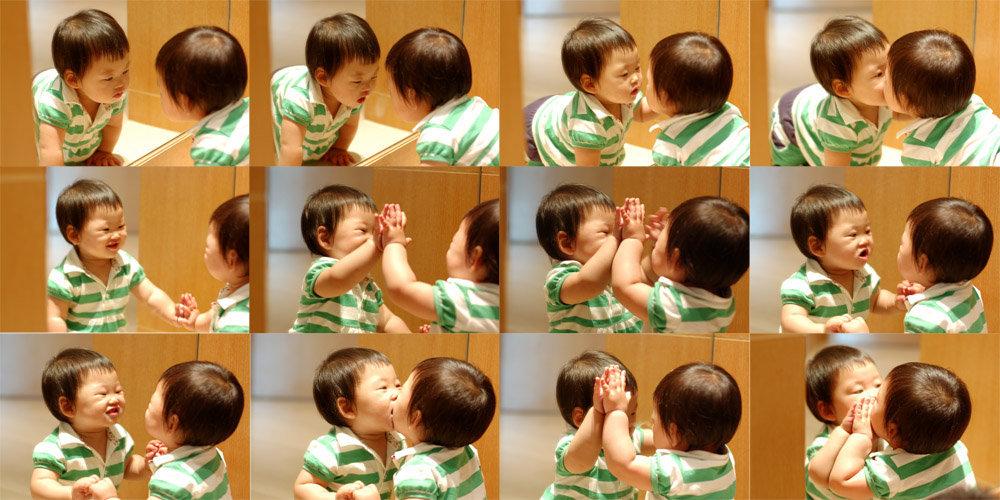 我的龙凤双胞胎宝宝——α和β的成长历程