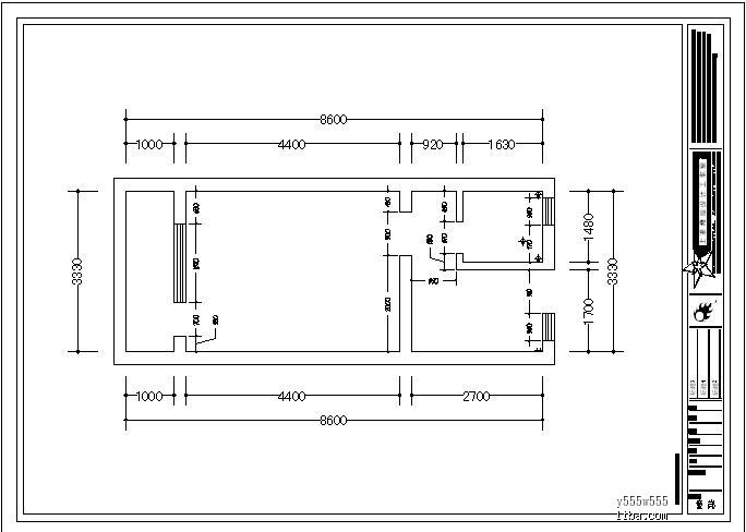 8米宽16米设计图展示图片