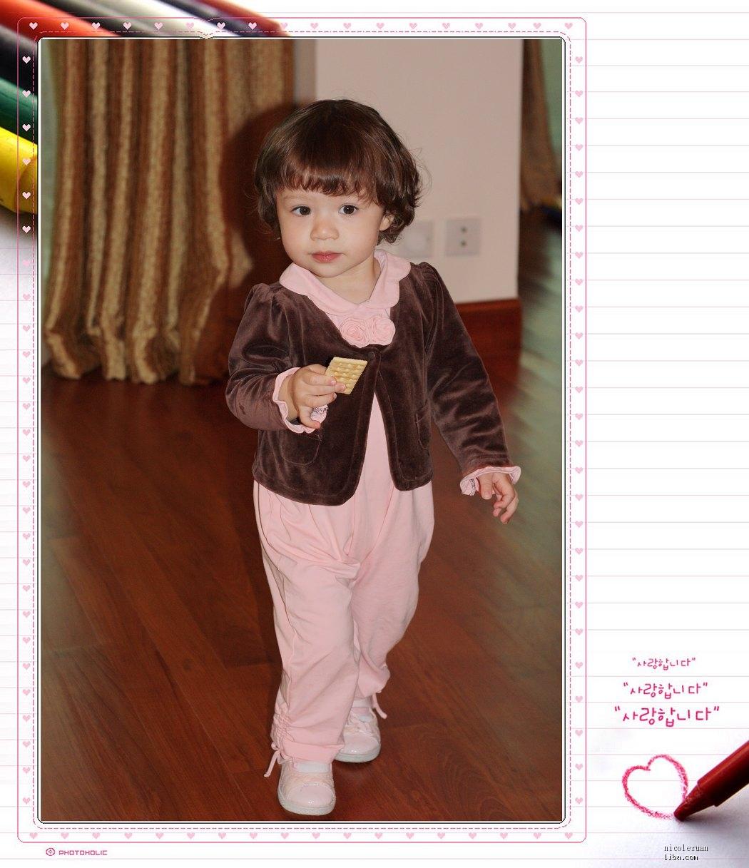 一周岁女宝宝该剪什么发型好看-1-2岁宝宝辣妈帮-辣妈帮