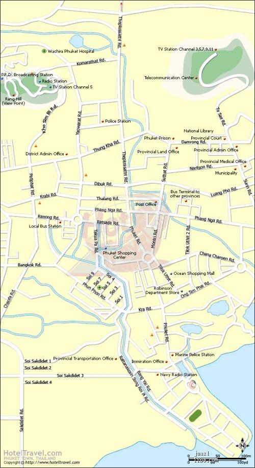 *普吉地图