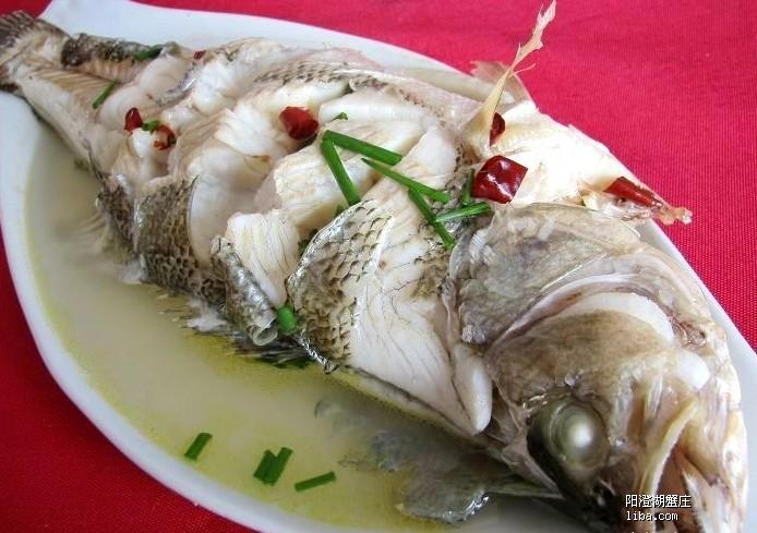 荤菜清蒸鲫鱼