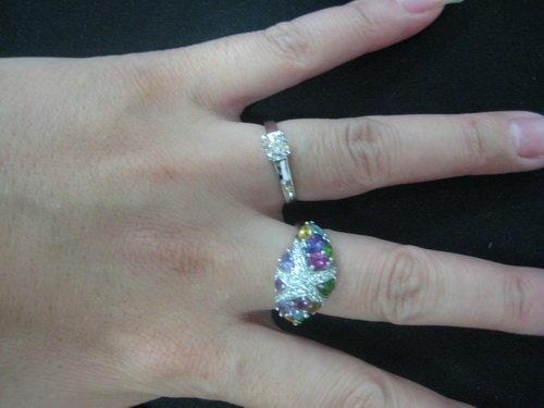 姐姐的enzo戒指&钻石天使的戒指