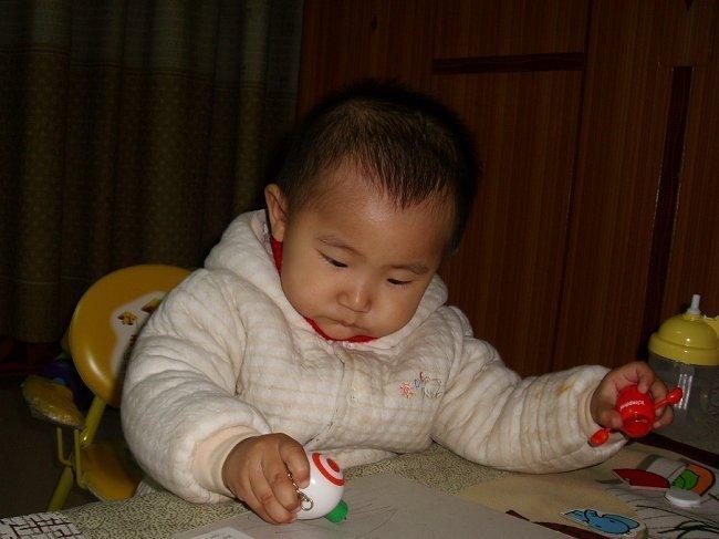 半男宝宝酷发型图片; 男一岁儿童发型大全;