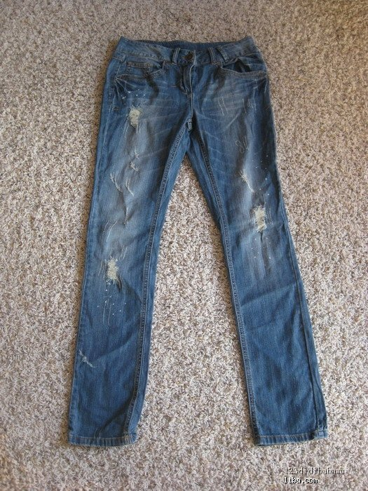 帅哥 微博/版型不错的破洞牛仔裤ALEX帅哥推荐的我一般都收