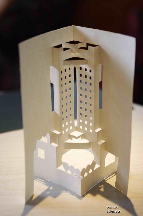 折纸,最近开始玩纸雕,小时候曾经很流行这样立体卡片