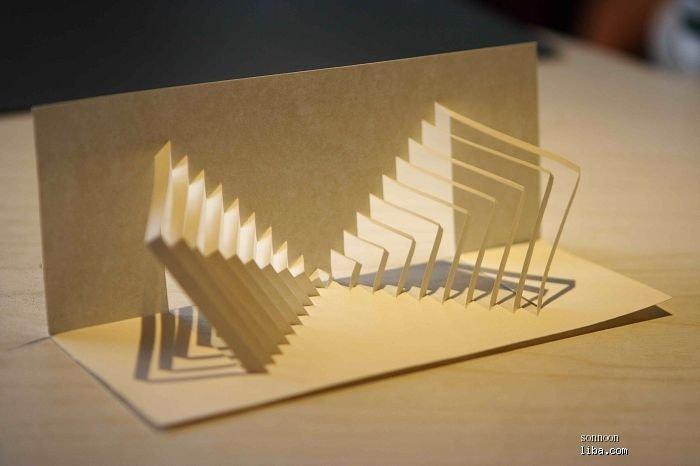 立体纸雕制作图解镂空